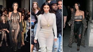 Mutatjuk Kim Kardashian legröhejesebb szereléseit 2016-ból!