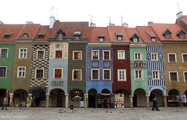 Poznan központja