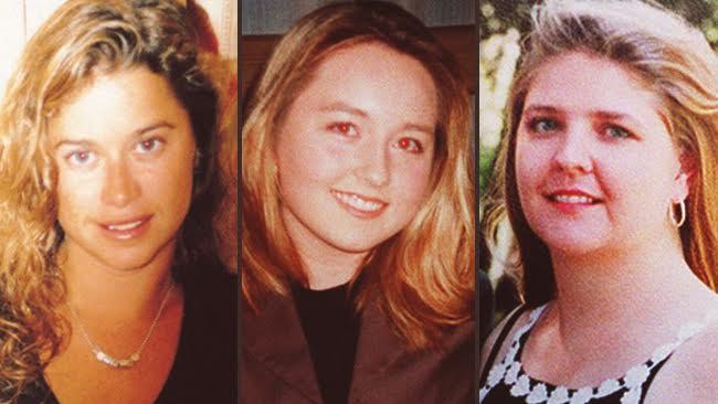 Ciara Glennon (balra), Sarah Spiers, Jane Rimmer