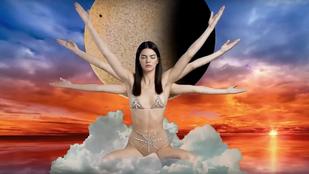 Kendall Jenner se vett fel túl sok mindent a meditációhoz