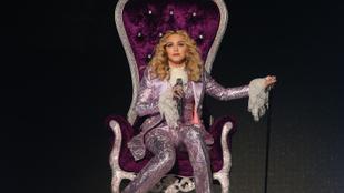 Instahíradó: Madonna és barátnője, Erzsébet királynő kellemes ünnepeket kívánnak