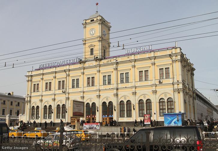 Moszkva Leningradszkij állomása