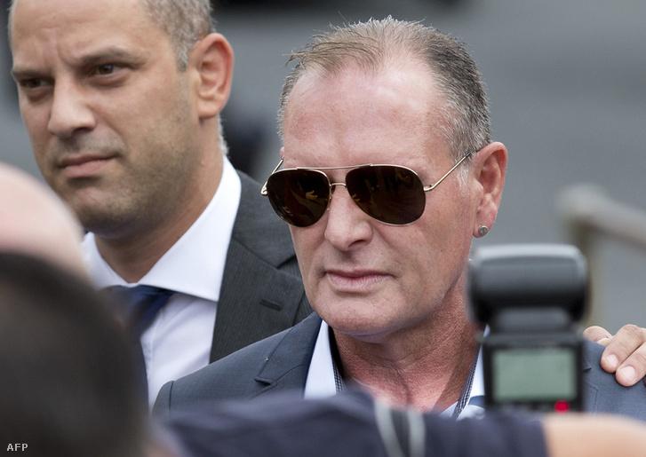 Paul Gascoigne 2013-ban a bíróságon