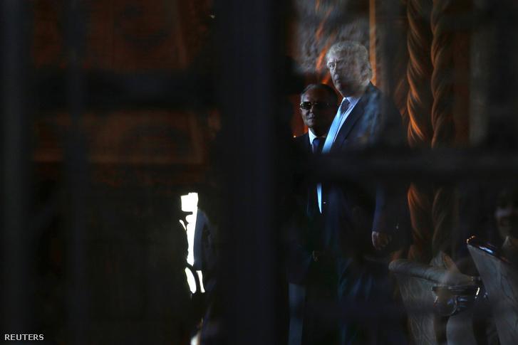 Isaac 'Ike' Perlmutte és Donald Trump