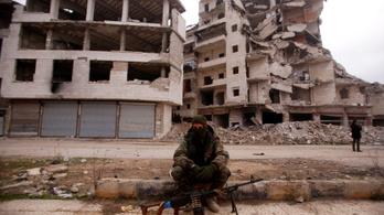 Éjfélkor elhallgatnak a fegyverek Szíriában