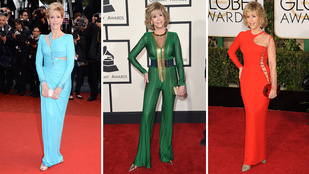 Jane Fonda bárkit lenyom a vörös szőnyegen