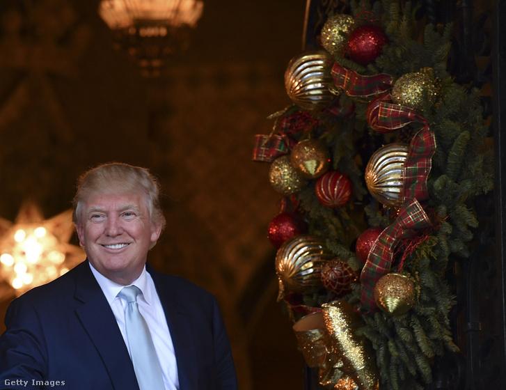Trump a Palm Beach-i Mar-a-lago klubban