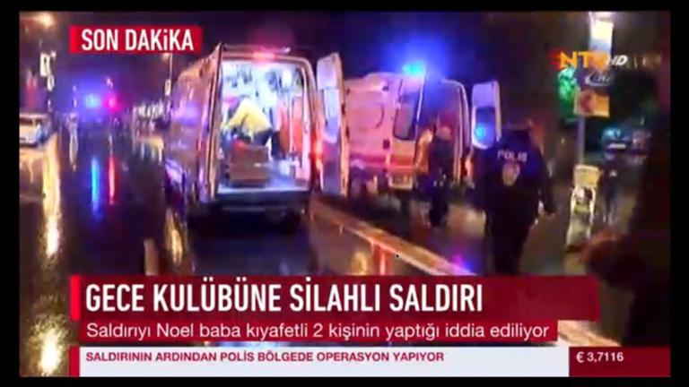 Legalább 39-en meghaltak a szilveszteri isztambuli terrortámadásban