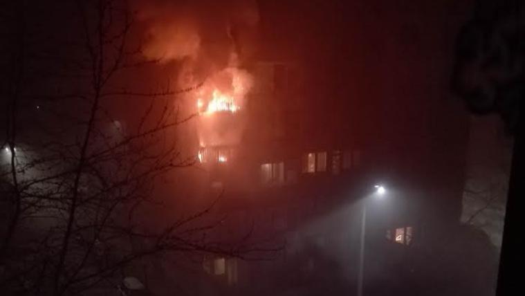 Ketten meghaltak újév hajnalán egy dunaújvárosi tűzben