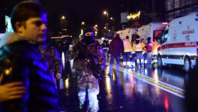 Felvételek az isztambuli támadásról