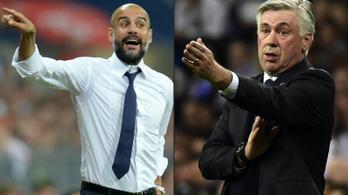 Guardiola és Ancelotti nagy összehasonlító tesztje