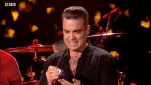 Robbie Williams a rajongói érintése miatt kezdett buzgó fertőtlenítésbe