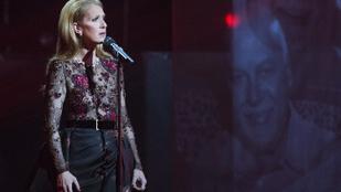 Céline Dion megindító videóban emlékezett férjére