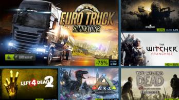Hatalmas leárazással kezdi az új évet a Steam