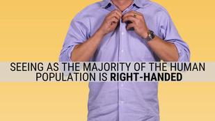Ezért gombolódik máshogyan a férfi és a női ing