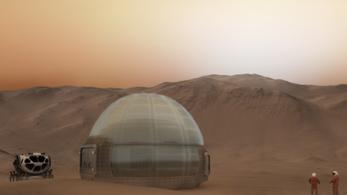 Jégkunyhóban lakhatnak az első Mars-telepesek