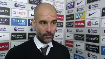 Guardiola morcos válaszokkal kínozta a BBC riporterét