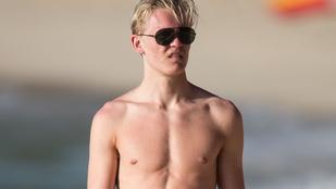Max Chilton a strandon igazgatta a zacsit