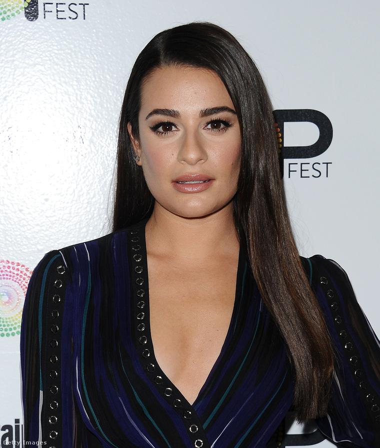 Lea Michele az Entertainment Weekly magazin rendezvényén 2016 októberében.