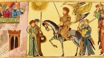 Hunok vihettek arab lovakat Kínába