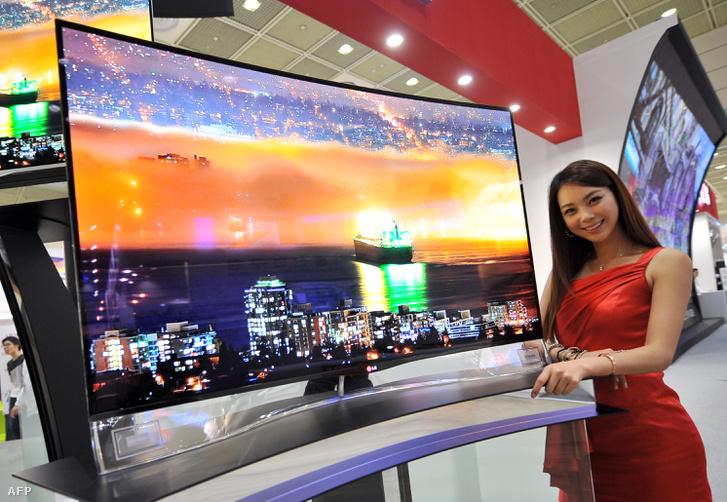 Az LG OLED tévéje