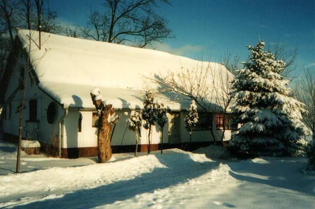 Bugacpuszta, Gedeon Tanya, az Öregház télen