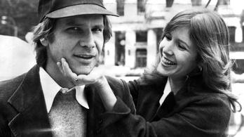 Carrie Fisher és Harrison Ford románca korántsem volt romantikus