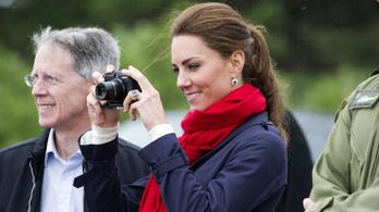 Családi fotókkal került a profik közé Katalin hercegné