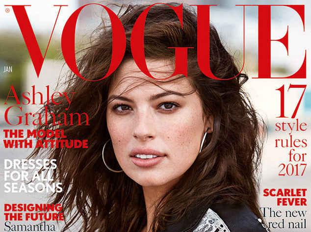 Januári brit Vogue címlap