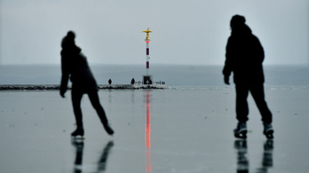 Veszélyes még a Balaton és a Velencei-tó jege