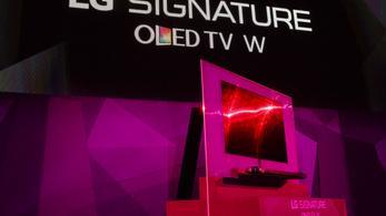 A világ legvékonyabb tévéjével állt elő az LG