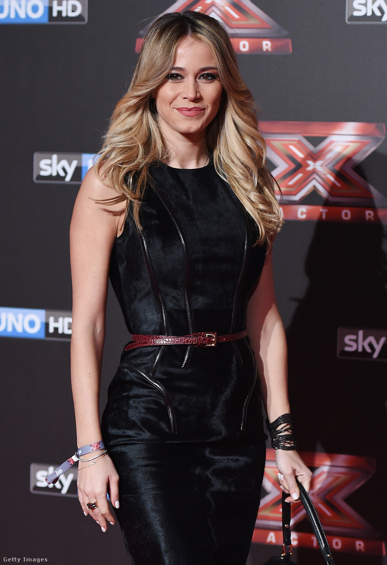 Diletta Leotta, a Sky Sports Italy műsorvezetője.