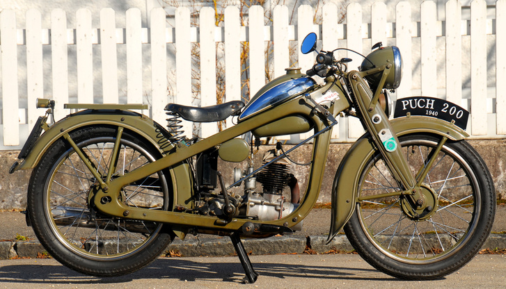 Puch 200, 1936