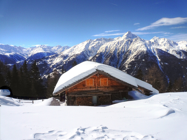 Hütte a Grossglockneren