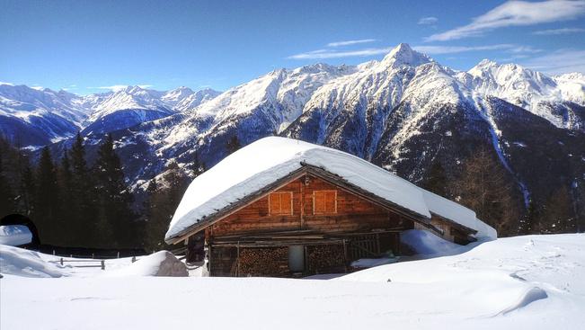 Végre megjött a friss hó az Alpokba