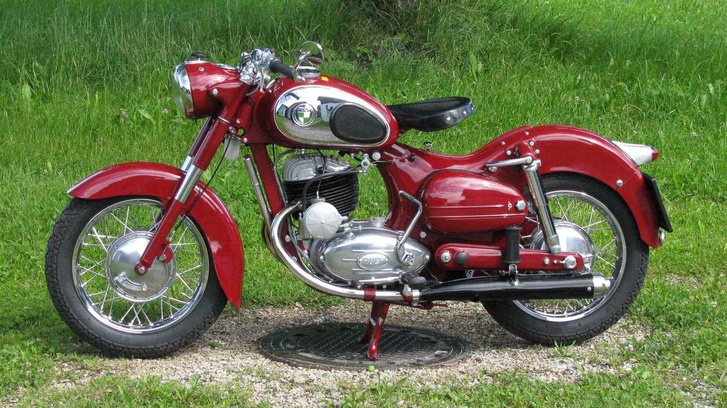 Puch SGS, 1955