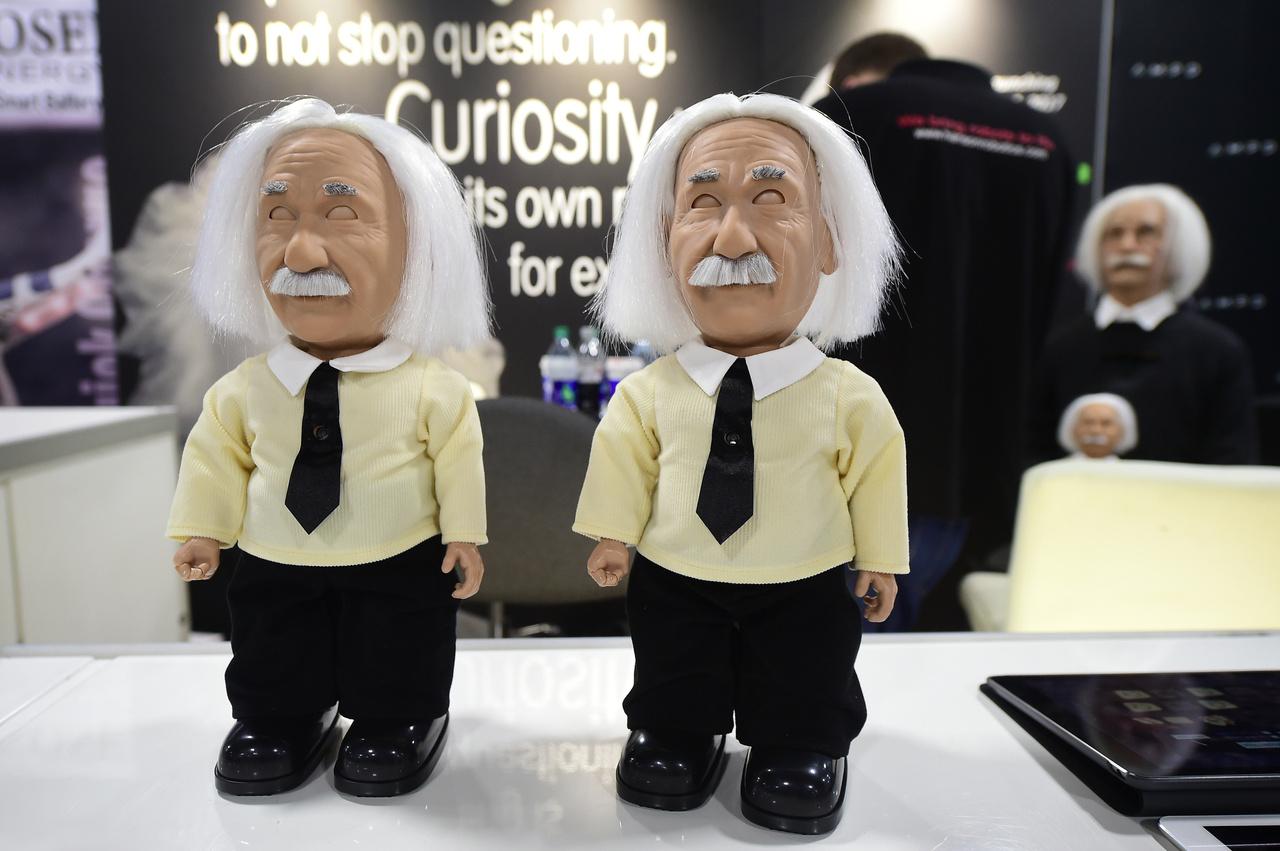 Hamarosan kapható lesz a Hanson Robotics terméke, az Albert Einstein Robot.