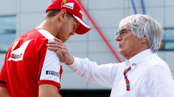 A Ferrari 20 évvel ezelőtti szintre esett, Bernie tudja, miért