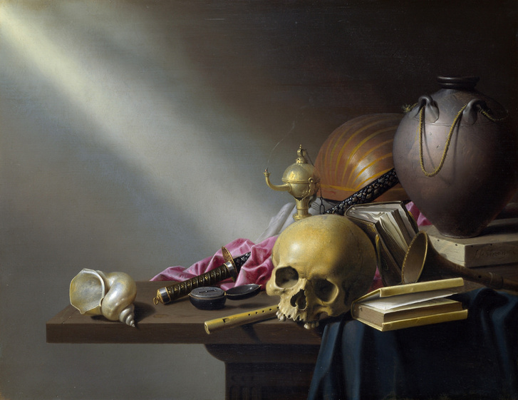 Harmen Steenwyck Still Life: An Allegory of the Vanities of Human Life (1640)