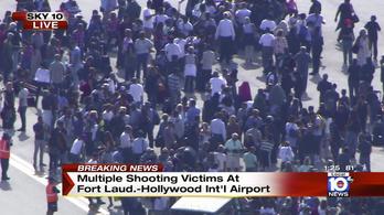 5 halott egy reptéri lövöldözésben Miaminál