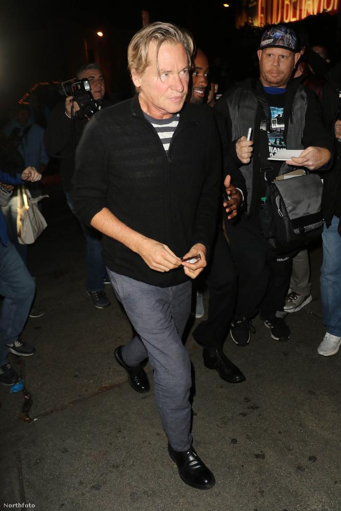 Legutóbb Michael Douglas mondta ezt, amit Val Kilmer cáfolt, amiért a színész a korábbi kijelentéséért bocsánatot kért.
