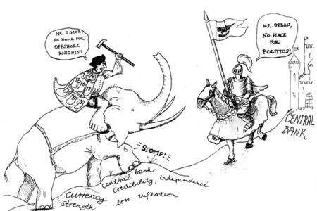 Orbán-Simor karikatúra (forrás: Wall Street Journal)