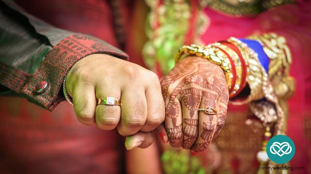Újdonsült férj és feleség
