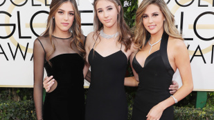 A nap képe: így néztek ki a Stallone-lányok Miss Golden Globe-ként