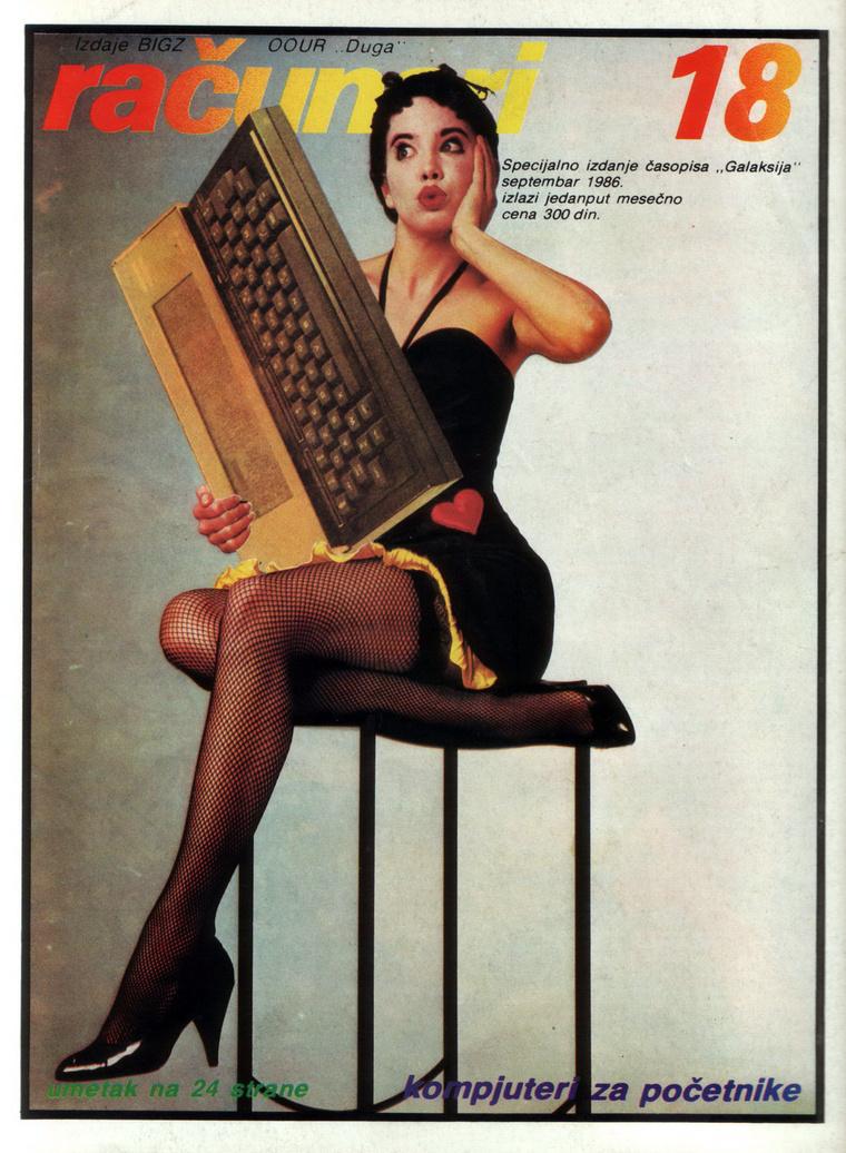A negyvenes éveket idéző címlap.