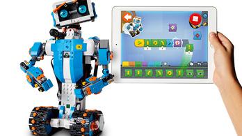 Legórobot tanítja programozni a legkisebbeket