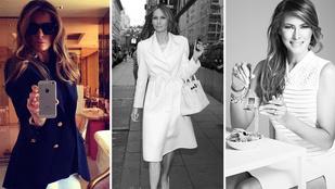Nem marad luxusruhák nélkül Melania Trump