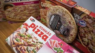 Mirelit pizza teszt: ezek kerülnek 800 forintba?!