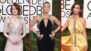 Szavazzon! Ki volt a legdögösebb nő a Golden Globe-on?