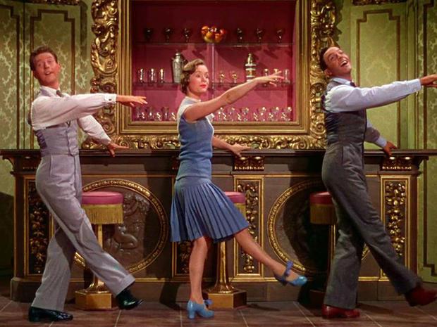 Donald O'Connor, Debbie Reynolds és Gene Kelly